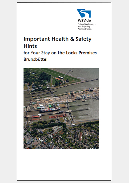 Health & Safety Hints for your stay on the locks premises Kiel-Holtenau (verweist auf: Important Health & Safety Hints)